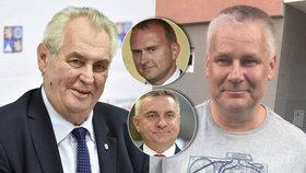 Politické zákulisí Kajínkovy milosti: Zemanovi muži prý tlačili na policii. Kvůli kampani