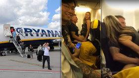 Nadržený párek souložil v letadle mířícím na Ibizu: Sex na pláži? To nevydržím!