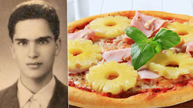 """Černý den pro pizzu s ananasem. Zemřel muž (†83), který dal světu """"havaj"""""""