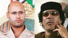 Syn Kaddáfího je volný. Sajfa Isláma propustili rebelové po šesti letech