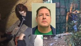 Vrah věznil ženu jako sexuální otrokyni na řetězu v kontejneru: Podívejte se na její záchranu