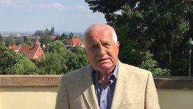"""Klause namíchl spor o uprchlické kvóty: """"Nastal čas odejít z EU"""""""