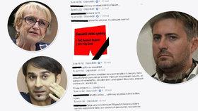 """Banga, Ztohoven i Čáslavská: """"Hatery"""" nezastaví ani smrt. Kde se bere nenávist?"""