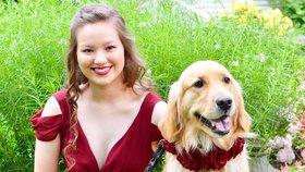 Užila si maturitní ples díky svému psovi! Před čím ji dokáže chránit?