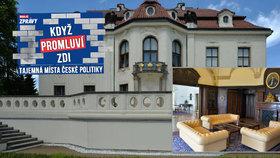 Nahlédněte do sídla českých premiérů: Bydleli tu Gándhí, Gagarin i Zeman