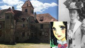 Zámek v Poběžovicích potřebuje opravit: Žila tu krásná Mitsuko, stala se předlohou komiksu