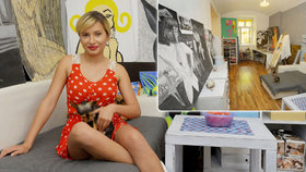 Bydlení silikonové playmate z Robinsonova ostrova: Malý byt s malým psem za malé nájemné!