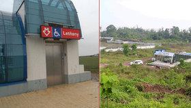 Kam se hrabou Letňany! Čínské metro staví uprostřed »džungle«