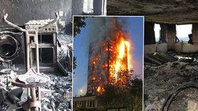 Ohnivé peklo v Londýně zabilo 72 lidí. Vyšetřování: Velkou chybu udělali i hasiči