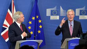"""Británie a EU rozjíždějí brexit: """"Dohodneme hluboké partnerství"""""""