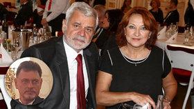 Zlata Adamovská v »zajetí« manželů! Současný i bývalý pohromadě