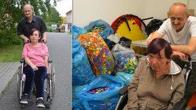 Konec utrpení postižené Vlaďky (53) už je na dohled! Štědrý čtenář Blesku jí chce vozík koupit