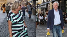 Juraj Kukura na nákupech s manželkou, která nesnáší focení: Pořizoval vitaminy!