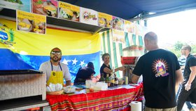 Exotické ovoce i rumba. Latinská Amerika přicestovala na Jiřák