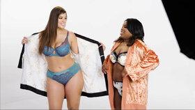 Plus size modelka Ashley Graham: Foťte skutečné ženy, říká v kampani za normální těla