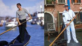 """""""Panenkám trhala ručičky."""" Z první gondoliérky v Benátkách je teď muž Alex"""