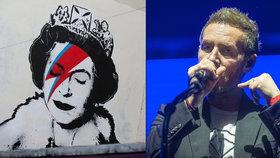 Tajemný autor graffiti Banksy je zpěvák ze slavné kapely, prořekl se kolega