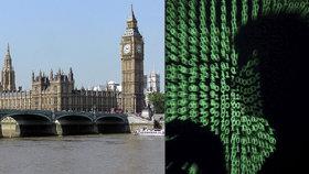 Britský parlament napadli hackeři. Poslanci jsou bez e-mailu