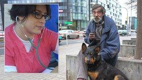 Bezdomovci se o své psy starají lépe než o sebe. Zvířata ale mají jiné návyky