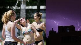 Vedra překonají 31 stupňů. Do Česka pak vtrhnou ničivé bouřky a kroupy