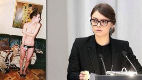 Náměstkyně ministra dráždí nahými snímky. Rus dal miliony jen za snídani s ní