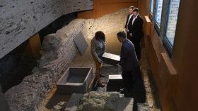 Na Hradě pohřbili Přemyslovce: Jde o Spytihněva a jeho ženu, tvrdí archeologové