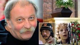 Pohřeb režiséra Vladimíra Drhy (†73): Přišly i zapomenuté hvězdy!