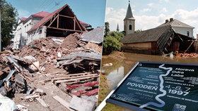 Před 20 lety začaly apokalyptické povodně na Moravě: 50 mrtvých! Škody za 63 miliard!