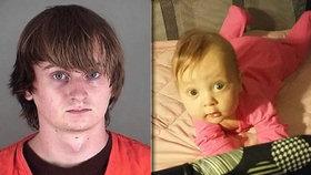 Mladý otec (22) umlátil 4měsíční dceru: Rušila ho »dětskými zvuky«