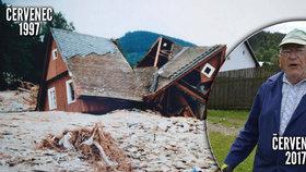 20 let od povodní: Soused seděl dva dny za komínem, vzpomíná Karel Šindler (82)