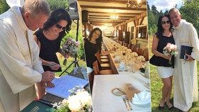 Šťastná Lucie Bílá: Zveřejnila fotky ze svatby