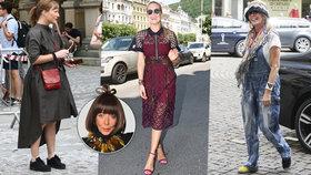 Exhibice slavných mimo rudý koberec: Alternativní žena Stinga, luxusní Krainová, rozdováděná radní Kaplický