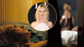 Slavná herečka se odhalila: Naomi Watts ukázala prsa