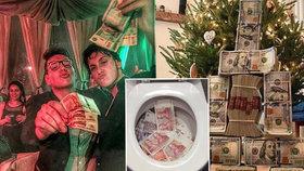 Zlatá mládež se chlubí majetkem: Máme peníze, kdo je víc?!