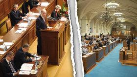 """Poslanci a senátoři jsou """"na nože"""": Obešli jste ústavu, zuří horní komora"""
