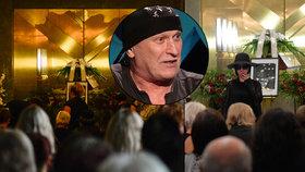 Pohřeb rockové legendy Zdeňka Juračky: Nad rakví mluvila Jana Kratochvílová