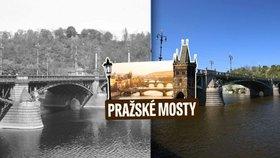 Čechův most postavili v rekordním čase: Ocelové nýty se vozily až ze Štýrska