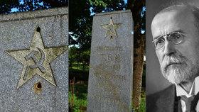 Unikátní památník »4v1« na Osoblažsku: Oslavuje Masaryka, válečné hrdiny i komunismus