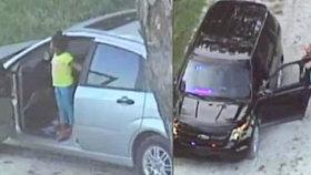 Zloději ukradli auto s malou holčičkou (3): Našla ji televizní helikoptéra