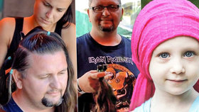 Rockeři pomáhají! Na hudebním festivalu darovali vlasy pro nemocné rakovinou