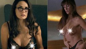 Od striptýzu ke striptýzu: Demi Moore má stále co ukazovat
