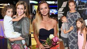 Celebrity vyrazily do kina: Mottlová ukázala prsa a Šuvadová z Kolji neteř