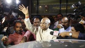 Indie má nového prezidenta. Rám Náth Kóvind dřív patřil k extremistům