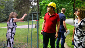 Krnáčová shodila plot Výstaviště. Stromovka se tak zvětšila