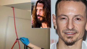 Sebevražda zpěváka (†41) Linkin Park: Oběsil se jako jeho kamarád! Děsivé fotky z místa smrti