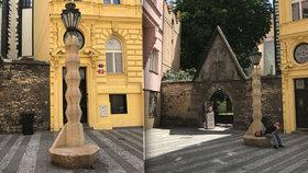 Kubistická lampa u Václaváku: Dříve terčem posměchu, teď hvězdou knih