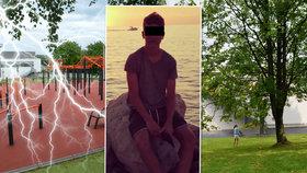 Do sportovce Tomáše (15) uhodil blesk: Osudným se mu stalo vykonání potřeby!
