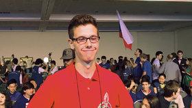 Asadův syn bojoval na světové soutěži v matematice. Porazili ho Češi