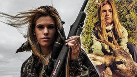 Krásnou lovkyni (†27) našli mrtvou: Vzala si život kvůli kritikům?