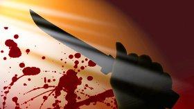 Drama na Domažlicku: Útočník se pobodal a skočil z okna